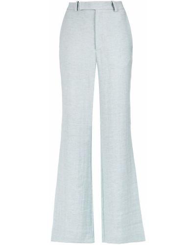 Льняные брюки - синие Tufi Duek