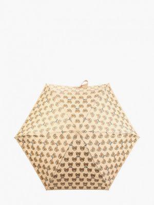 Складной зонт - бежевый Moschino