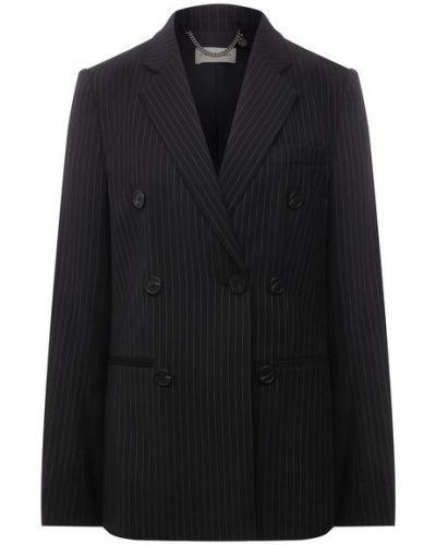 Пиджак двубортный с подкладкой из вискозы By Malene Birger