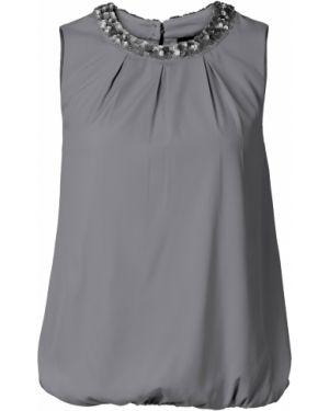Блузка без рукавов боди с коротким рукавом Bonprix