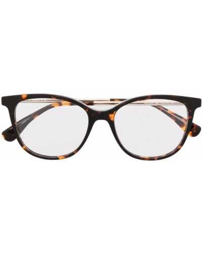 Оправа для очков металлические - коричневые Max Mara