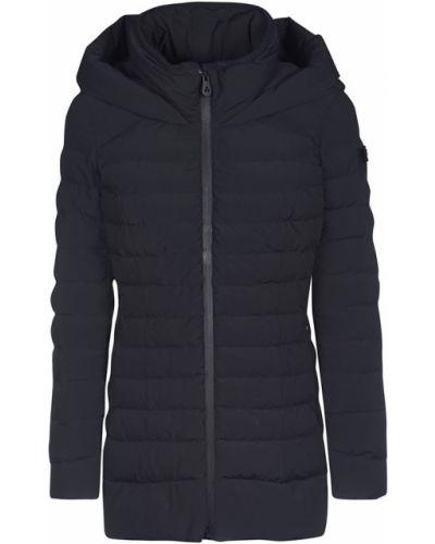 Czarny płaszcz Peuterey