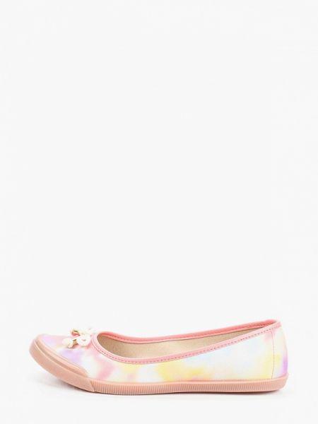 Розовые балетки Moleca