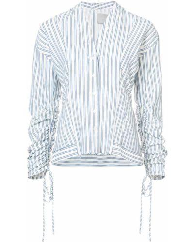 Синяя рубашка в полоску Jason Wu