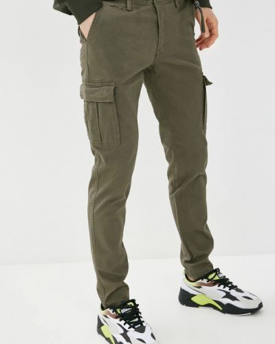 Зеленые брюки карго J. Hart & Bros