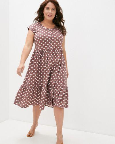 Повседневное фиолетовое платье Winzor