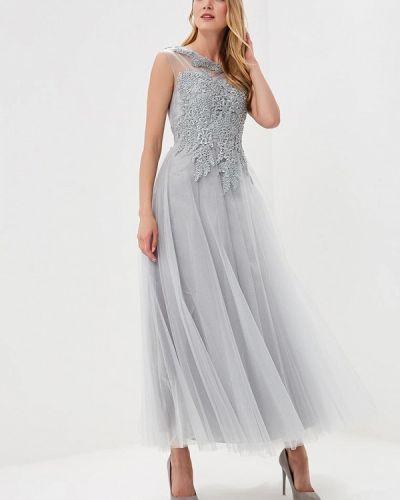 Платье весеннее серое Paccio