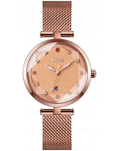 Zegarek elegancki z siateczką Skmei