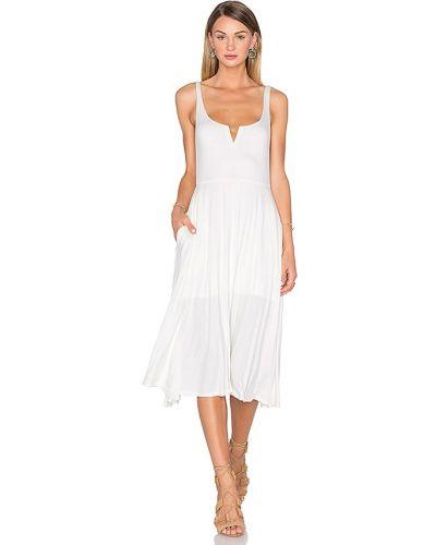 Белое платье с карманами House Of Harlow 1960
