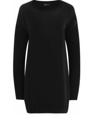 Платье макси длинное - черное Roque