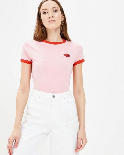 Розовая футболка Brave Soul