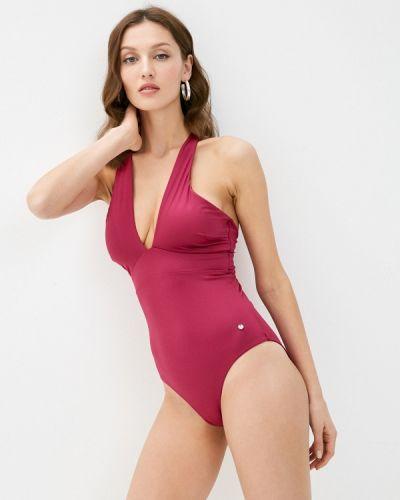Красный слитный купальник Women'secret