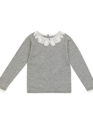 Шерстяной свитер - серый Tartine Et Chocolat