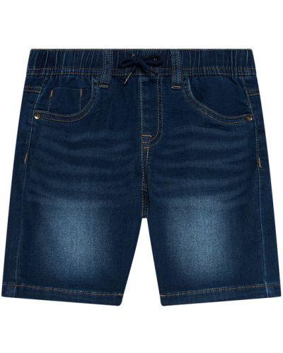 Szorty jeansowe granatowe Name It