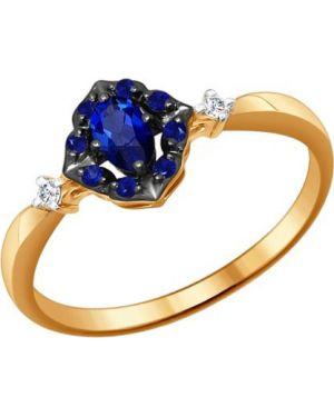 Кольцо из золота c сапфиром Sokolov