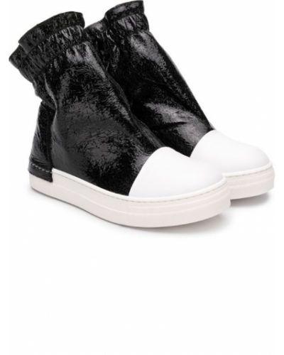Ботинки черные Cinzia Araia Kids