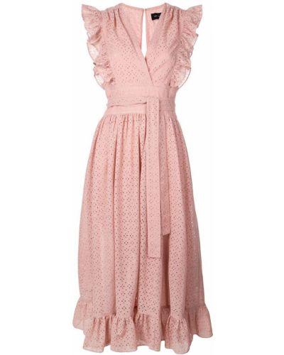 Розовое платье на молнии Robert Rodriguez Studio