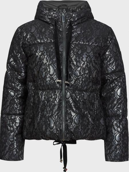 Черная куртка на молнии с подкладкой Silvian Heach