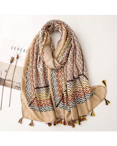 Хлопковый шарф No Brand