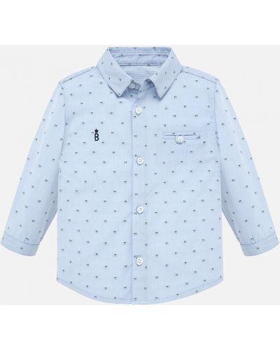 Рубашка с узором эластичный Mayoral