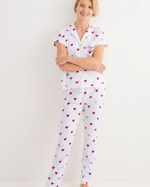 Пижама пижамный белая Women'secret