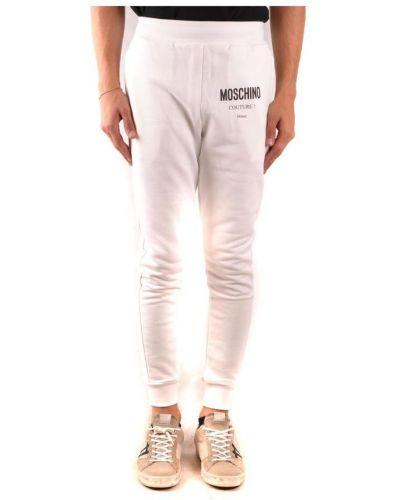 Biały dres Moschino