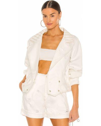 Куртка на пуговицах - белая Retrofete