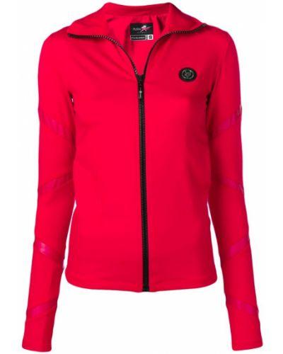 Красная спортивная куртка Plein Sport