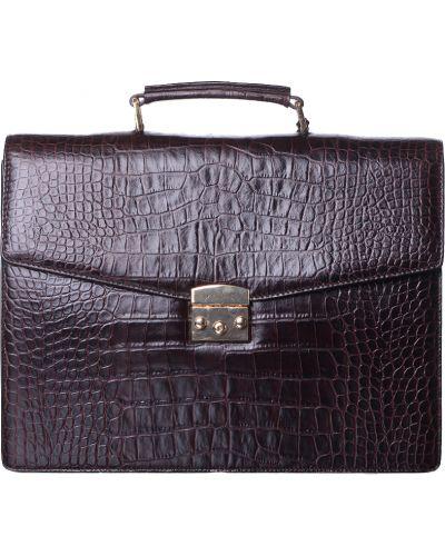 Кожаный портфель - коричневый Gio Monaco