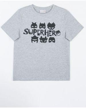 Koszula szary z wzorem Coccodrillo