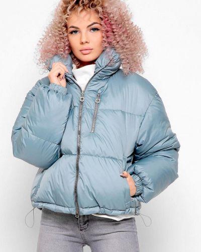 Голубая демисезонная куртка Carica&x-woyz