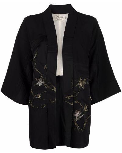 Черный пиджак с лацканами A.n.g.e.l.o. Vintage Cult