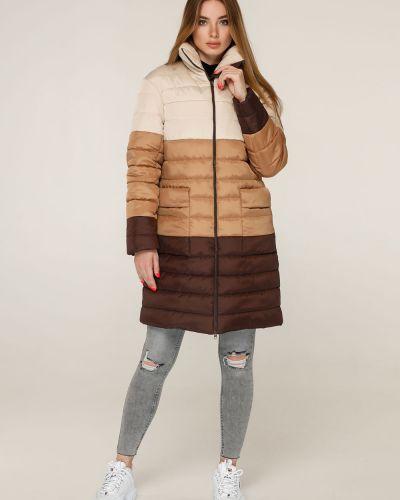 Утепленная куртка - бежевая Favoritti