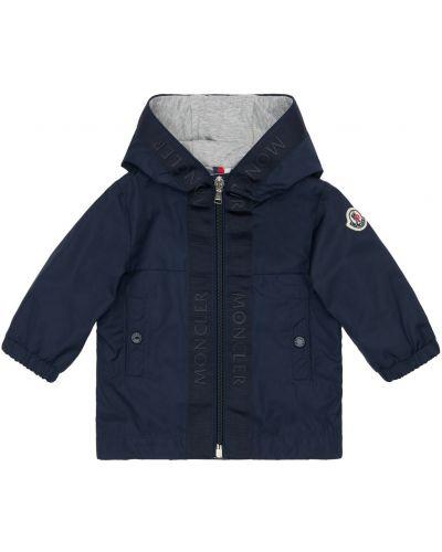 Z rękawami bawełna kurtka z kieszeniami z mankietami Moncler
