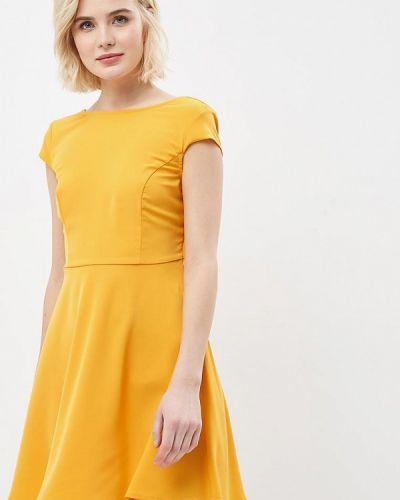 Платье весеннее желтый Modis