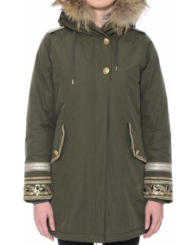 Куртка осенняя зеленая Canadian