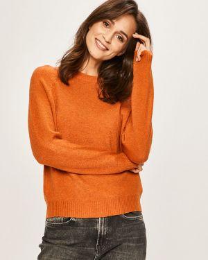 Sweter z wzorem z dekoltem Jacqueline De Yong