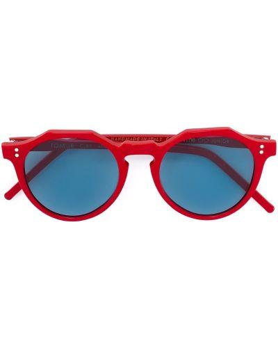 Красные очки круглые Kyme Junior