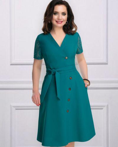Летнее платье миди с поясом Charutti