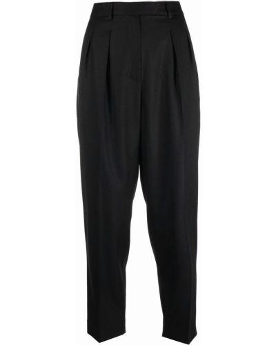 Укороченные брюки - черные A.p.c.