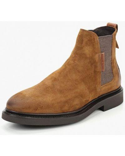 Ботинки челси осенние замшевые Marc O'polo