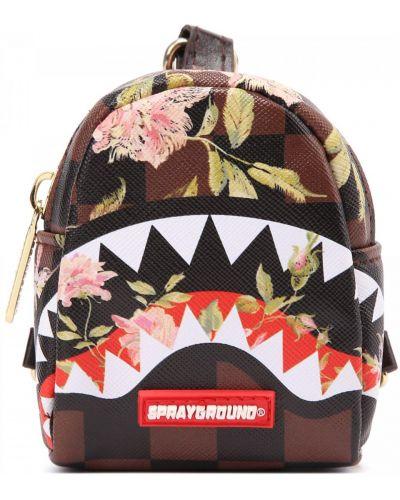 Комбинированный кожаный рюкзак Sprayground