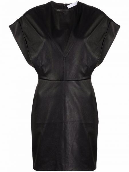 Кожаное платье - черное Iro