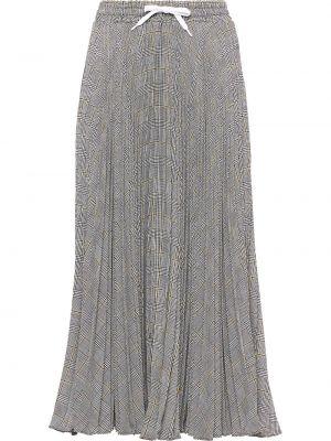 Spódnica plisowana na gumce tutu Miu Miu