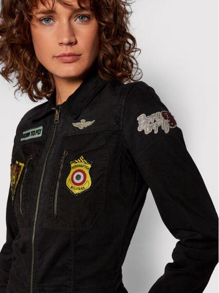 Kombinezon - czarny Aeronautica Militare