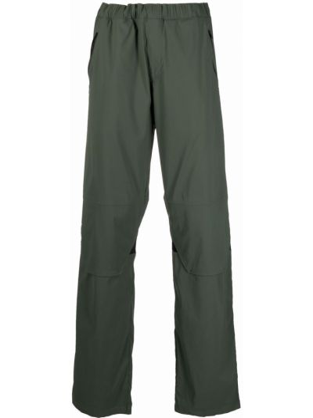 Zielone spodnie z siateczką Affix