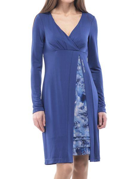 Синее платье Blugirl
