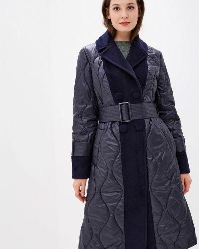 Синяя утепленная куртка Grand Style