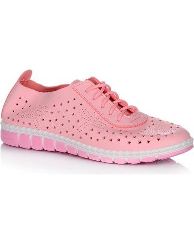 Кроссовки - розовые Dual
