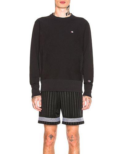 Bluza dresowa - czarna Champion Reverse Weave
